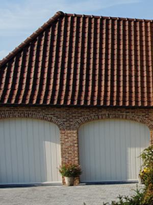 Porte-garage PVC